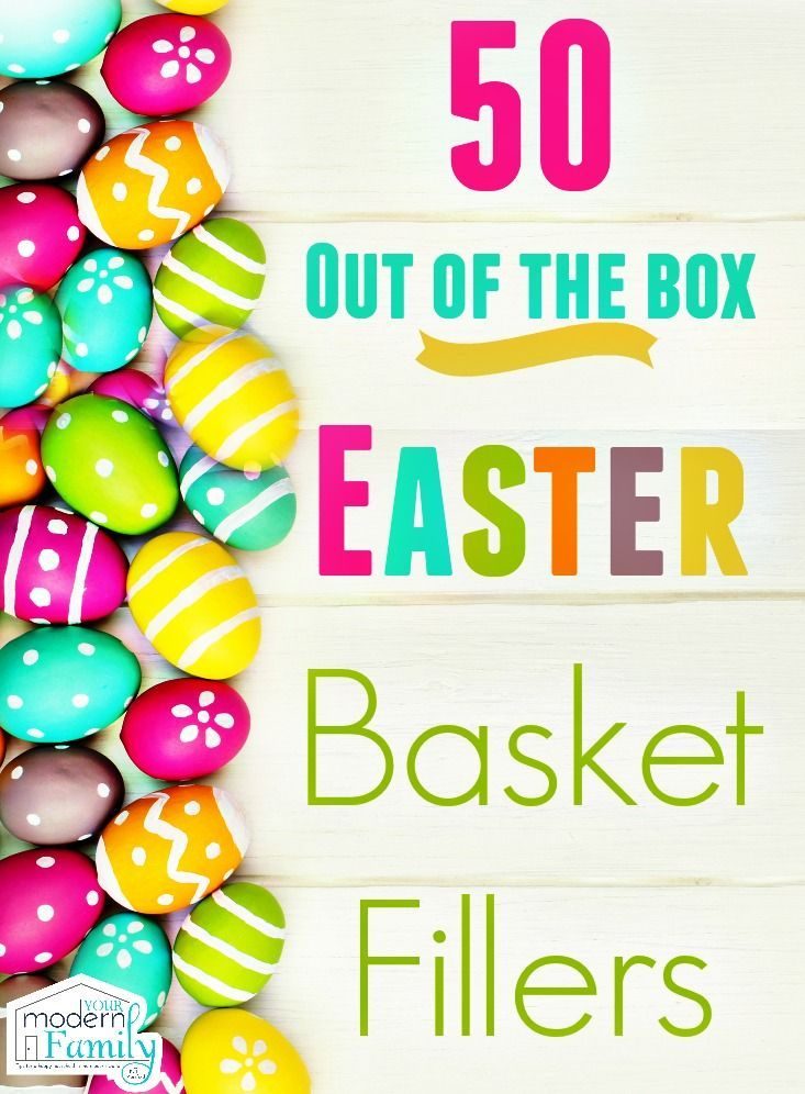 Easter basket stuffers that your kids will love holidays easter basket stuffers that your kids will love negle Gallery