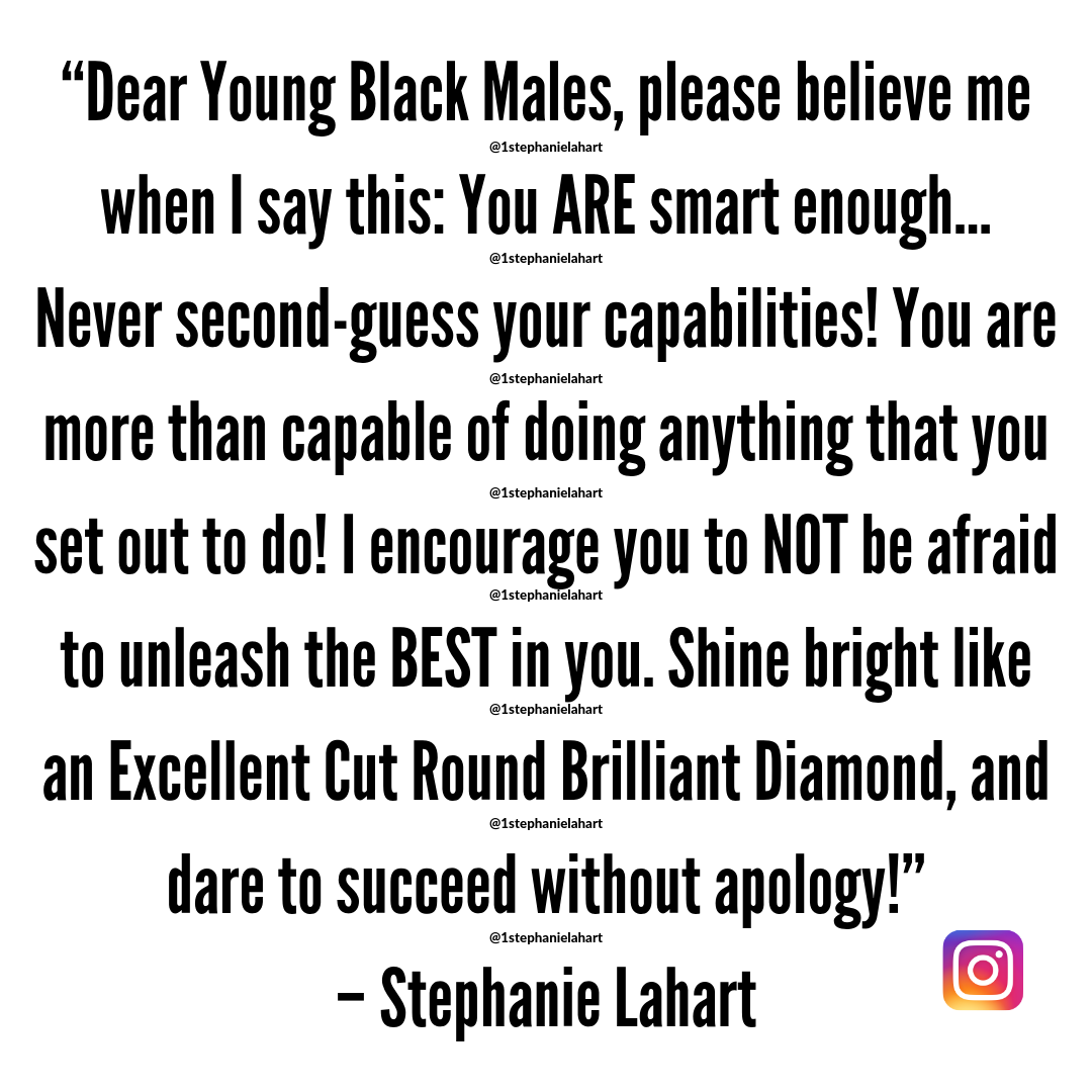 Inspirational Black Male Empowerment Quotes For Young Black Male Youth Stephanie Lahart Empowerment Quotes Empowering Quotes Words Of Affirmation