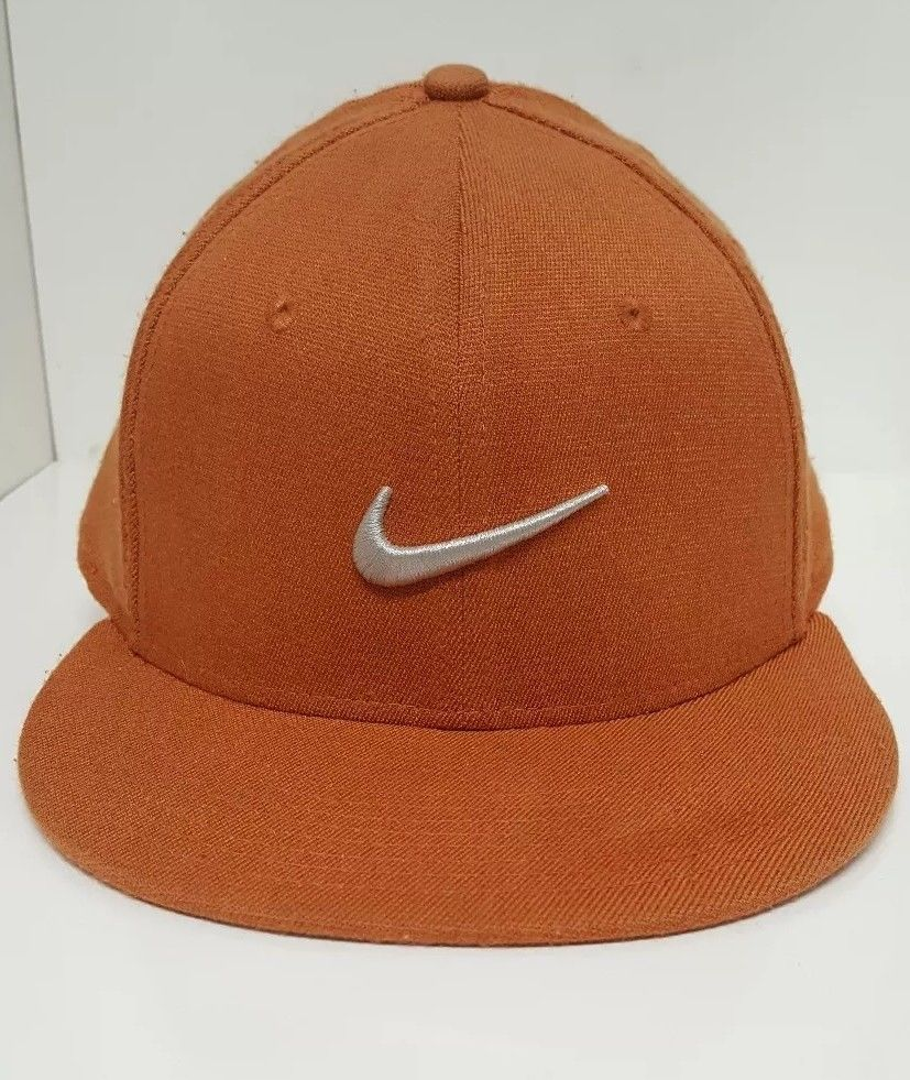 30fb521184ad5 Nike True Hat Baseball Cap Football Burnt Orange Swoosh Texas Longhorns  Colors #Nike #BaseballCap