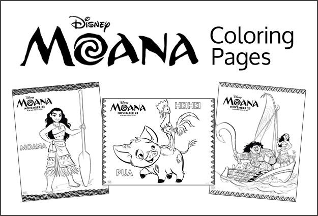 Moana Coloring Pages | Coloring Pages | Pinterest | Moana