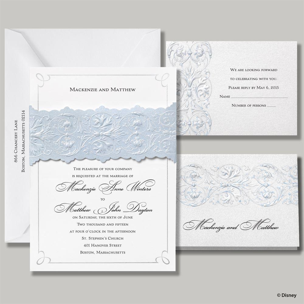 Disney - Once Upon a Time Invitation - Cinderella | Wedding