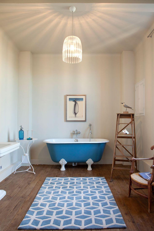 salle de bain dco vintage et rtro - Salle De Bain Inspiration Bord De Mer