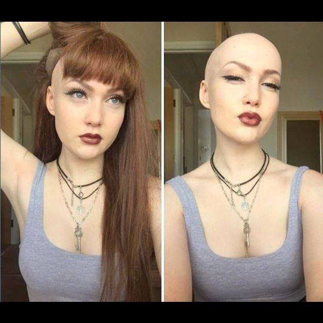 Shave off hair sex