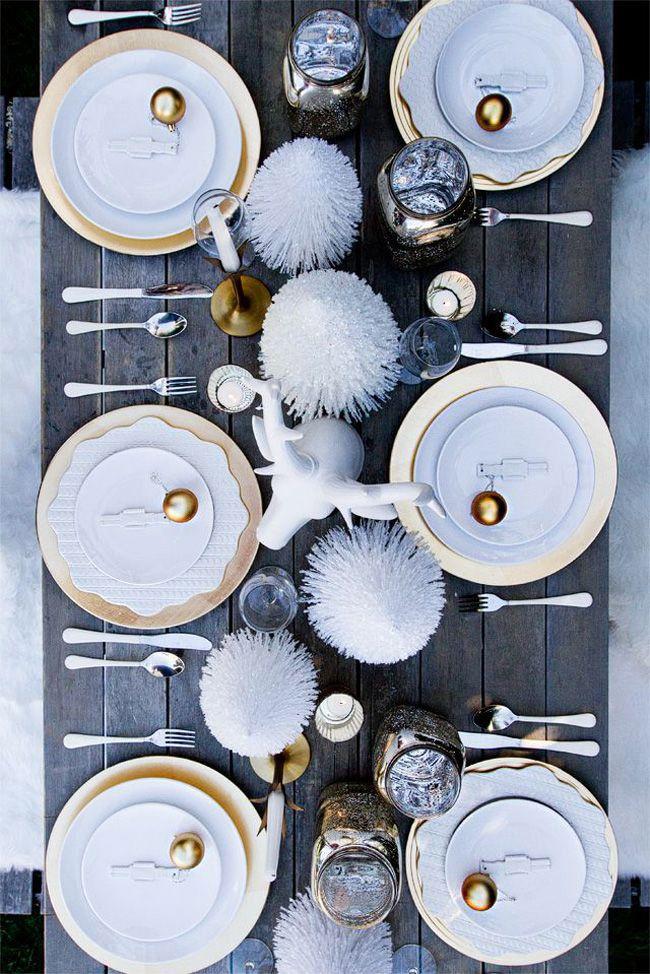 Deco Table De Noel Par Chiara Stella Home21 Table De Noël