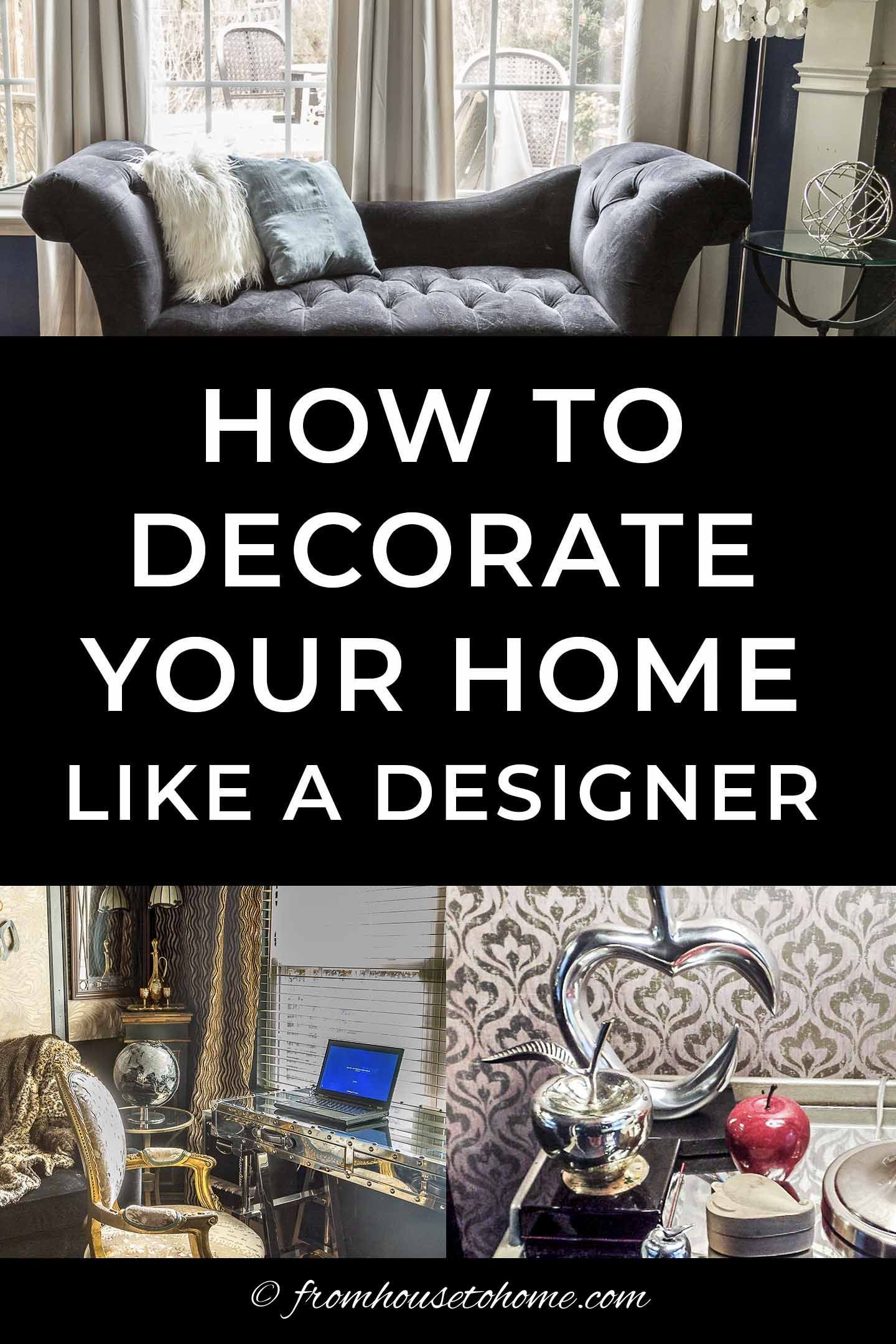 Room Design Ideas How To Decorate Your Home Like A Designer Decorating Your Home Room Design Cottage Bedroom Decor