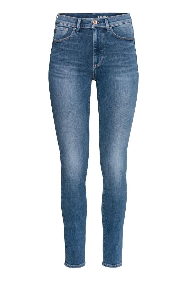89df2896e61 Shaping Skinny High Jeans - Denim blue - Ladies