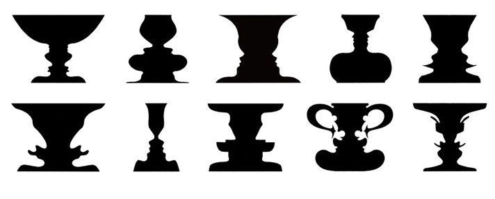 The Rubin Vase Meme Design School 2013 Optical Illusion Double