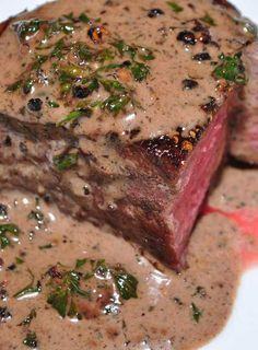 Recipe For Filet Mignon Au Poivre Recipe Filet Mignon Recipes Filet Mignon Steak Steak Au Poivre