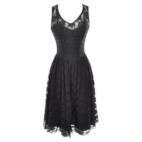 black floral net overlay corset dress  corset dress