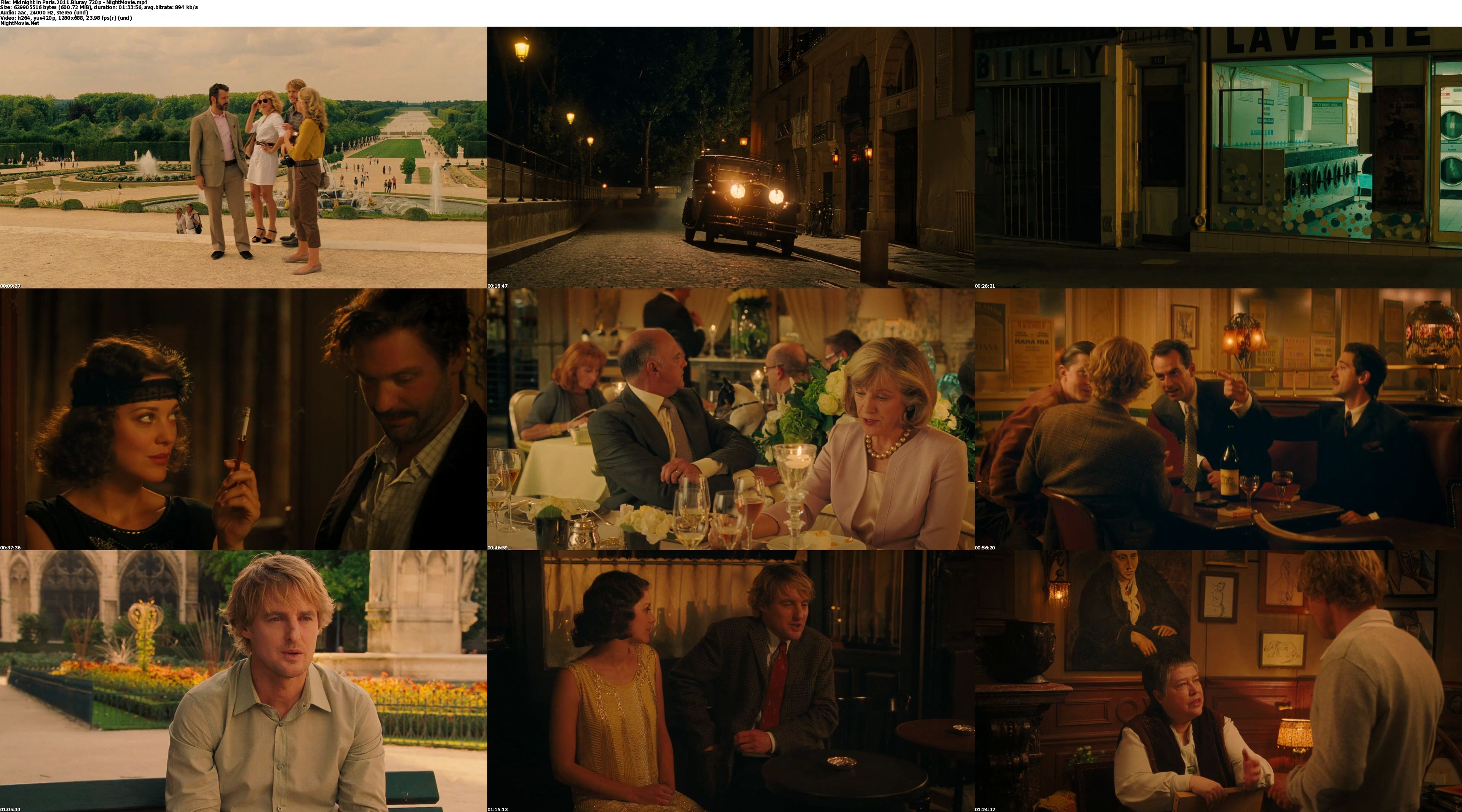 midnight in paris dvdrip xvid uwhblanchuck pinterest