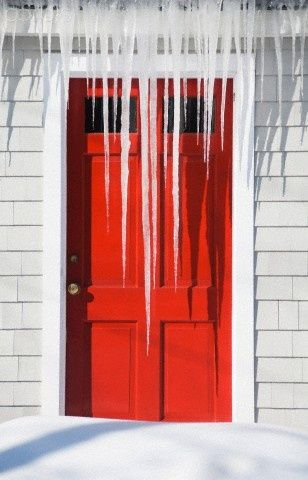 icicles....