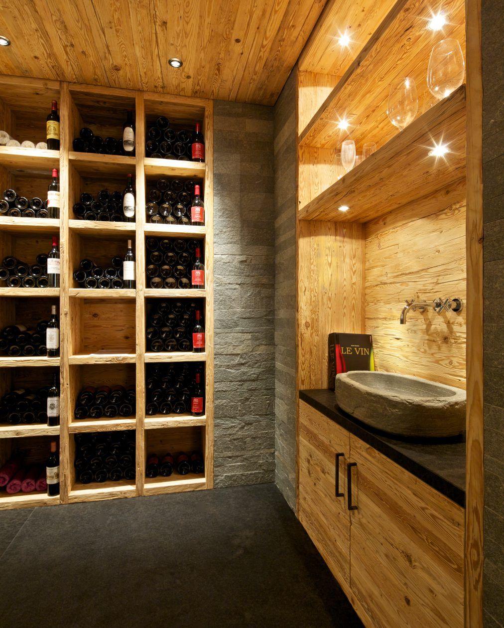 Weinkeller Design Mit Holz Und Naturstein Weinkeller Design Weinkeller Haus Design