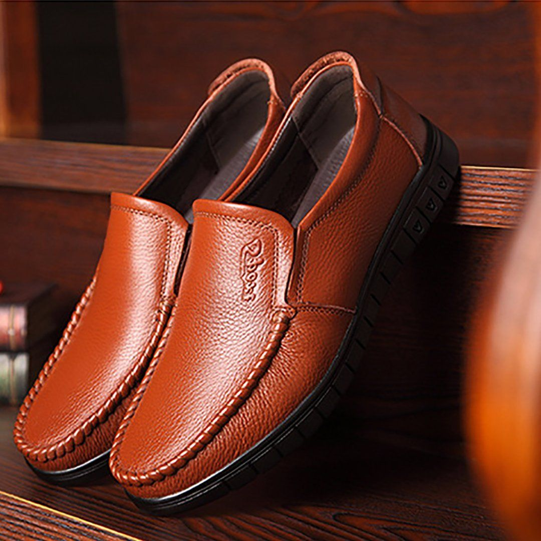 Men's Leisure Leather Shoes | Leather