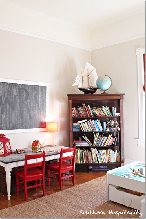 playroom- LOOOVE the table and chairs!