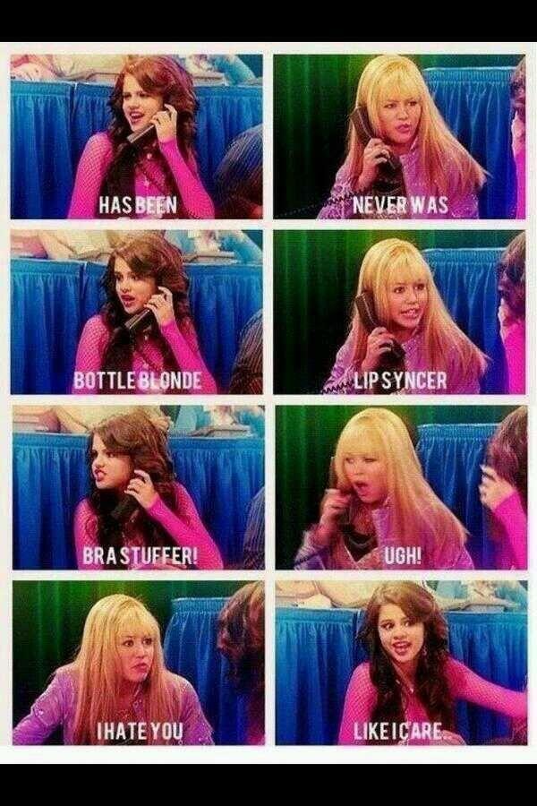 Hannah Montana episode feat. Selena Gomez as Makayla