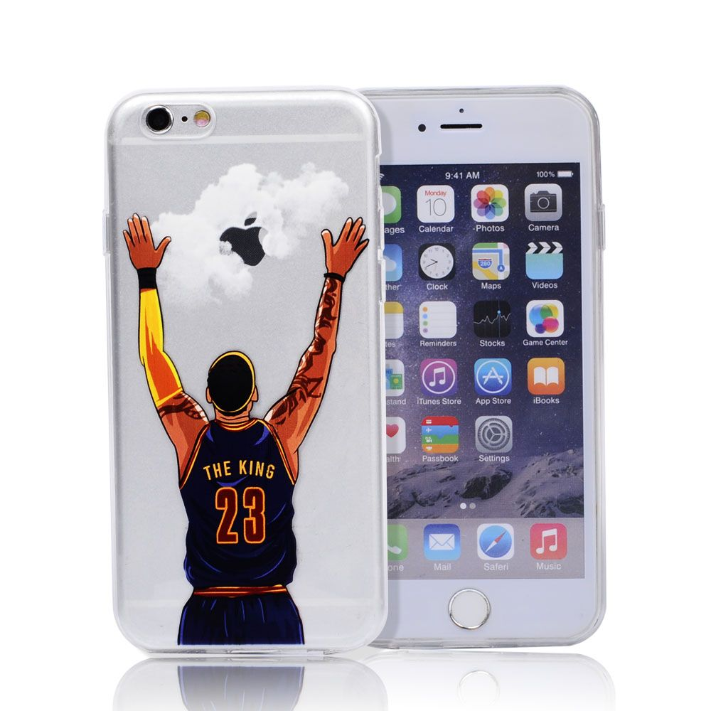 coque iphone 6 basketball blanche