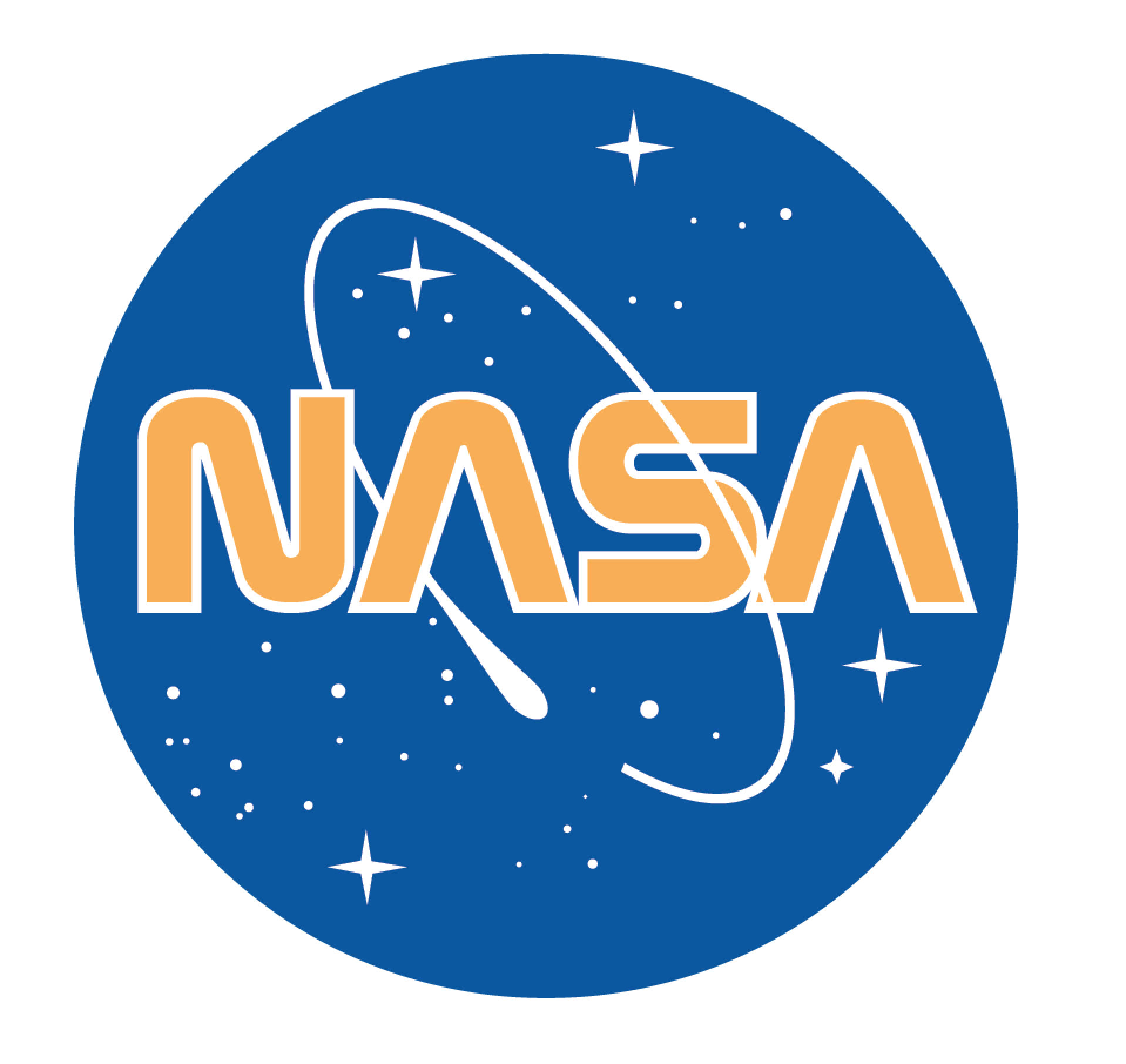 Nasa Logo blended with worm Nasa logo Nasa logo, Nasa