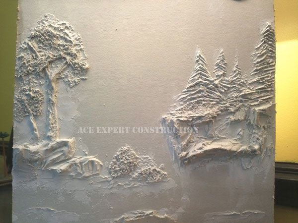 Account Suspended Plaster Wall Art Plaster Art Drywall Art