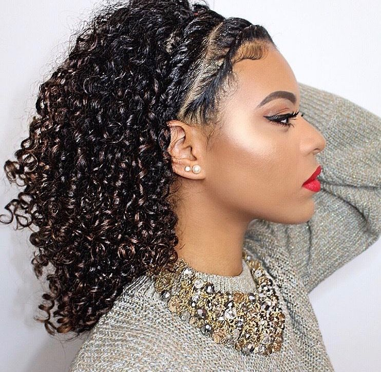 Naturally Curly Hairstyles Gorgeous Pinjamiere Beasley On Natural Hairstyles  Pinterest  Natural
