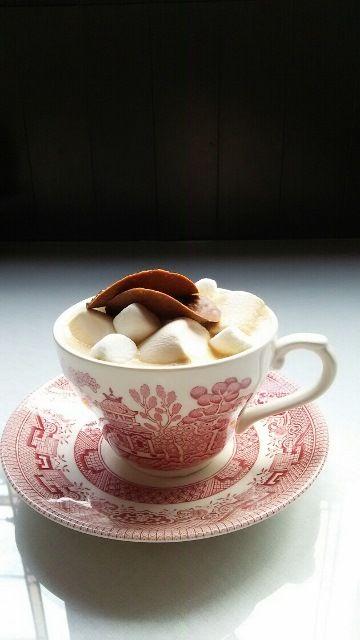 Hampstead Tea Room 仙台 カフェでランチを|ハムステッドティールーム - ハニーマシュマロミルクティー