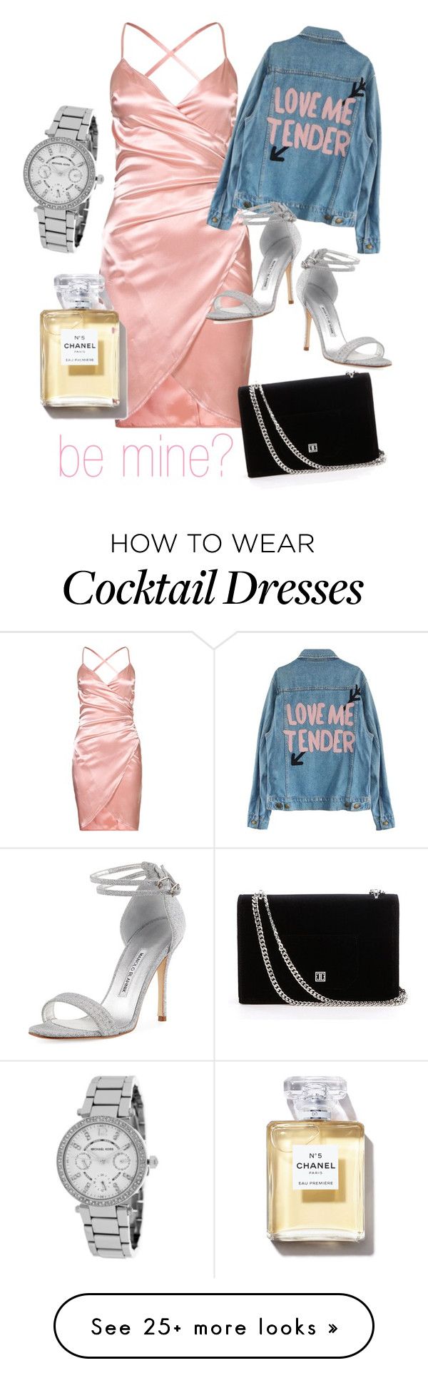 """""""Valentine's Day for Girls Who Slay"""" by rylee-bergere on Polyvore featuring Manolo Blahnik and Michael Kors"""