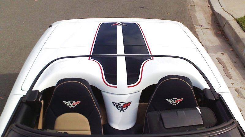 C5 ZR Body Kit | C5 Corvette, CE Stripe, Single Color Stripes Kit - Convertible [C5 ...