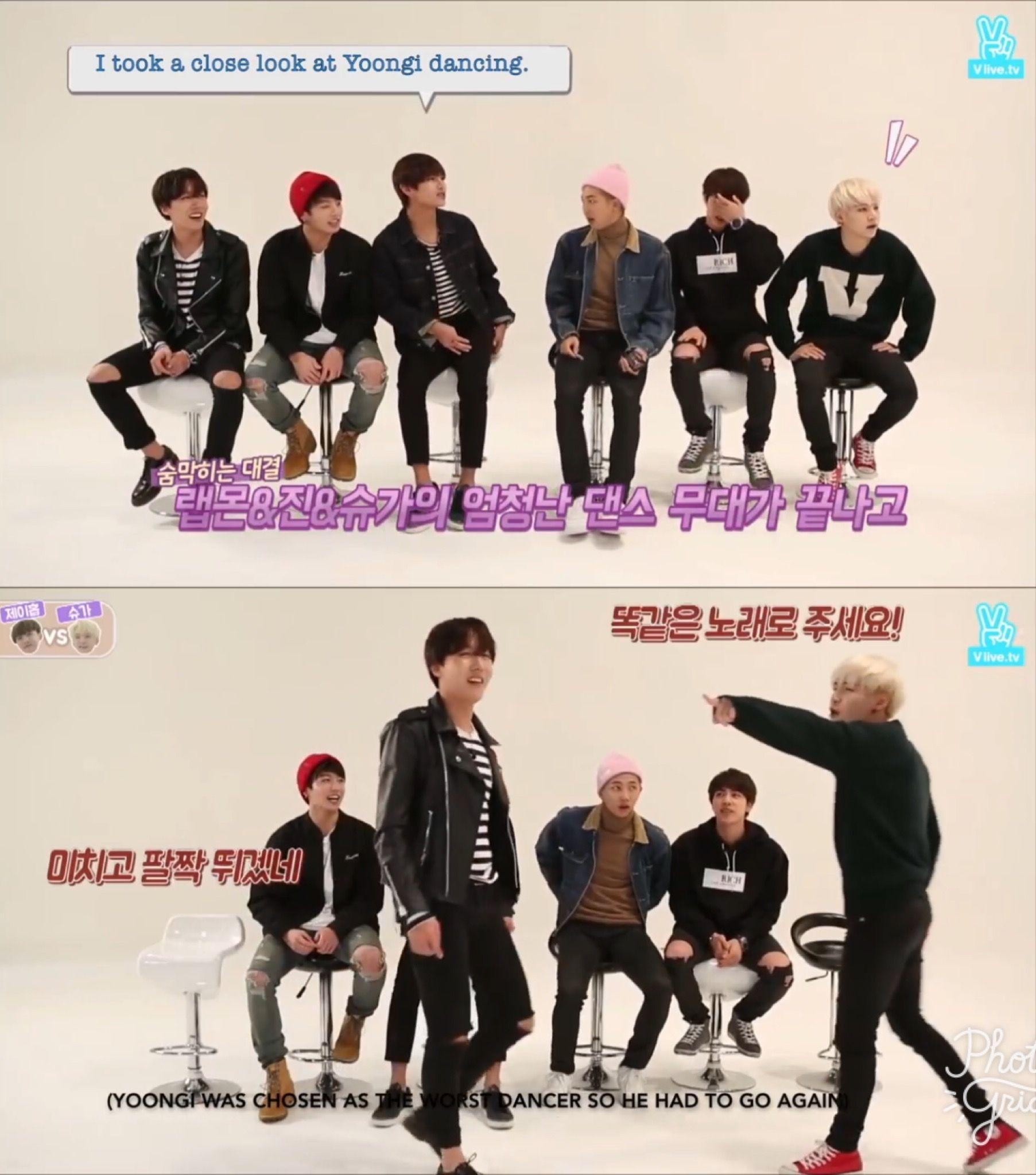 Jhope And Suga S Dance Battle Run Bts Run Bts Dance My Boys