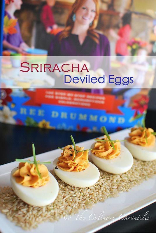 sriracha deviled eggs the pioneer woman holiday cookbook giveaway mastercook - Pioneer Woman Christmas Appetizers