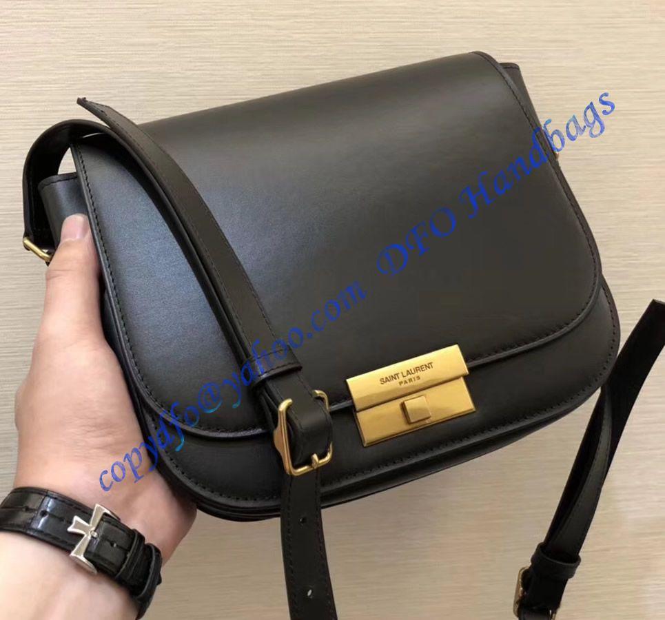 b8f7caa1da Saint Laurent Betty Satchel in Smooth Leather Black   Luxury Bags in ...