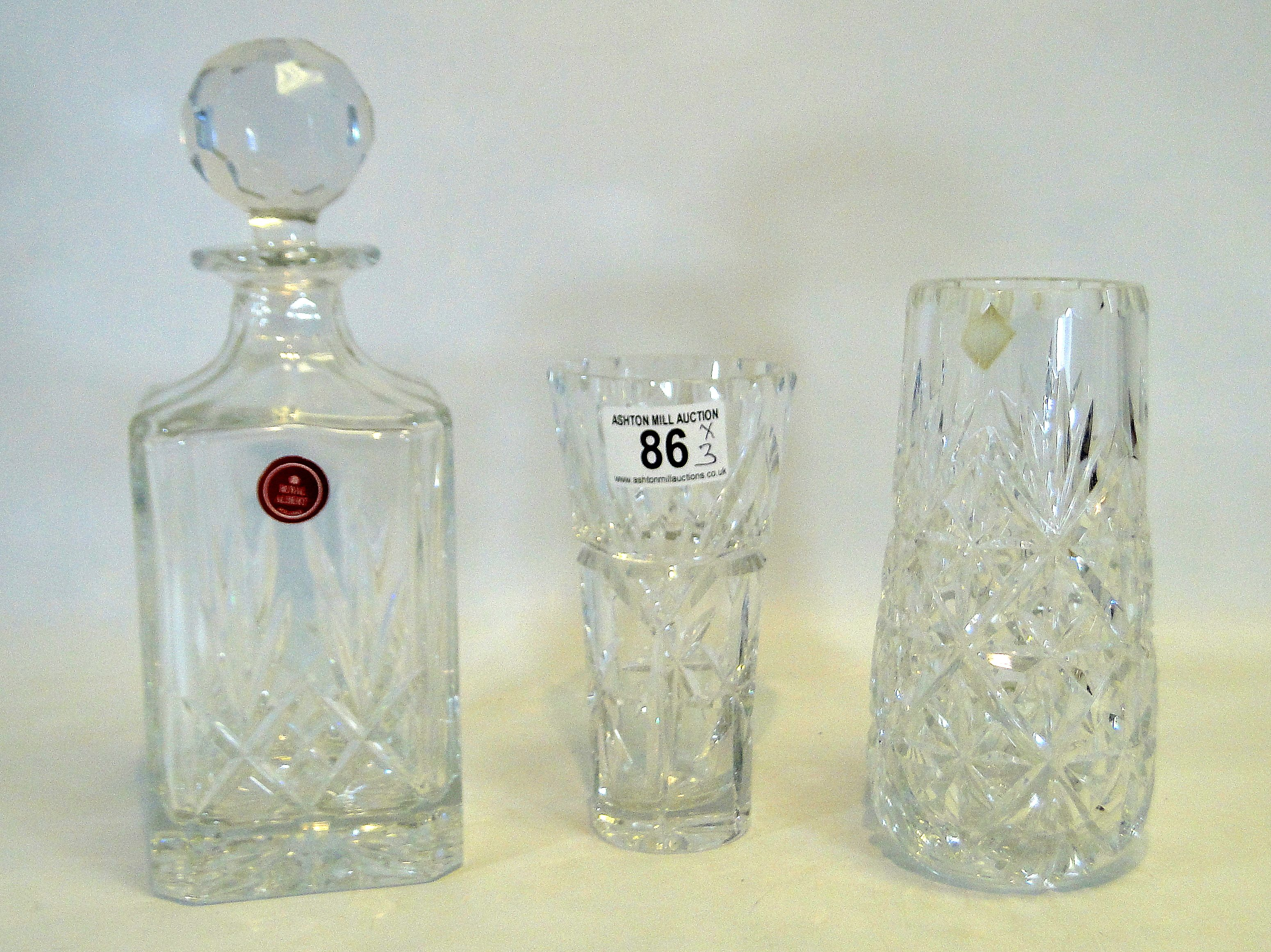 itm bowl flower and sentinel timeless centrepiece crystal vase set glass rcr