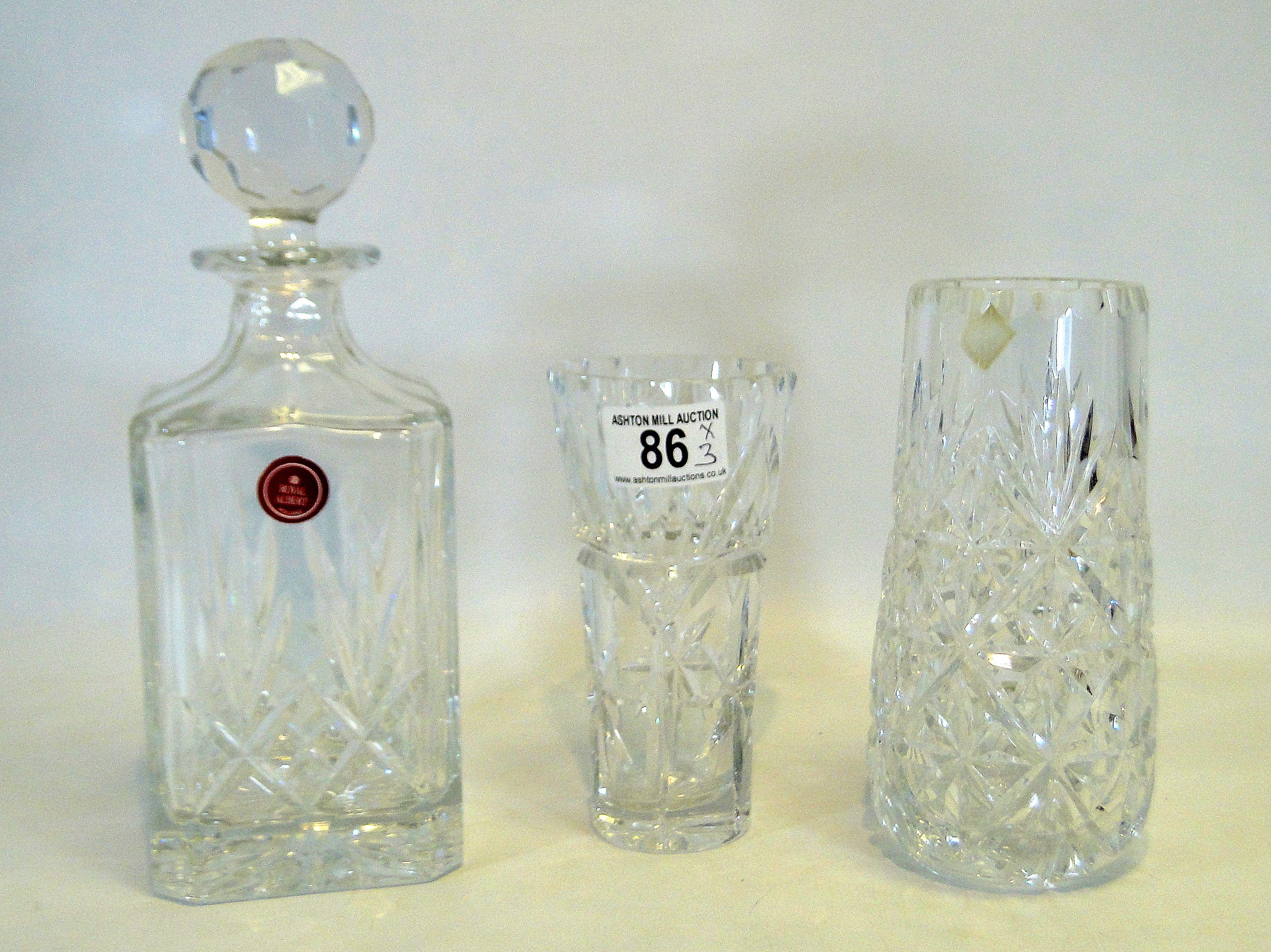 flower vase cut decor crystal vintage lead bud hand glass pin swirled pinwheel fluted home star