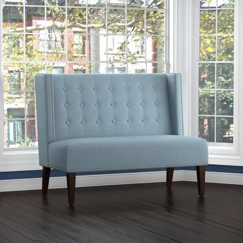 Found It At Joss Main Perry 53 Settee Sofas For Small Spaces Furniture Upholstered Bench Bedroom