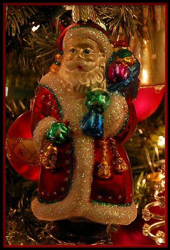 Magical Christmas Ornaments.Old World Santa Claus Ornament Santas Christmas