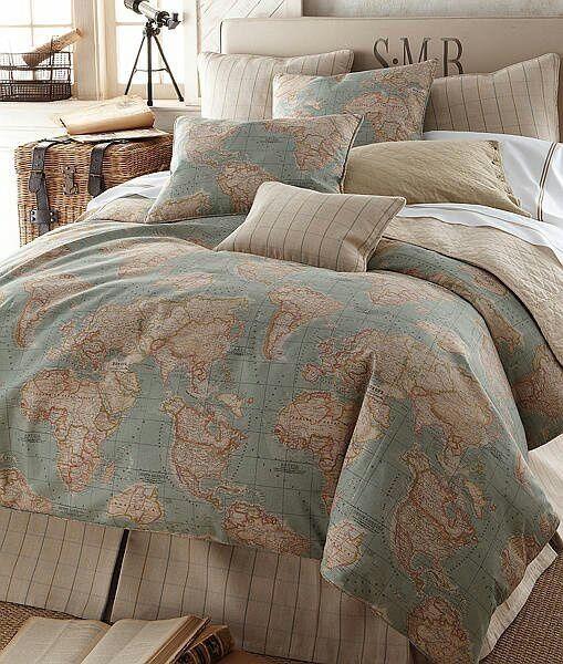 Estampado World Http Www Delevie Com Ar Home Map Bedding Home Bedroom