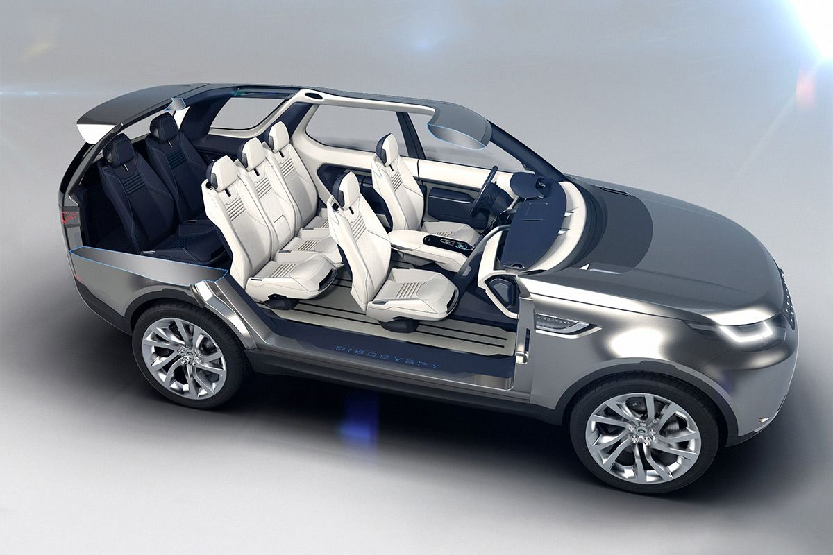 Land Rovers New Age Of Discovery Concept Unveiled At The New