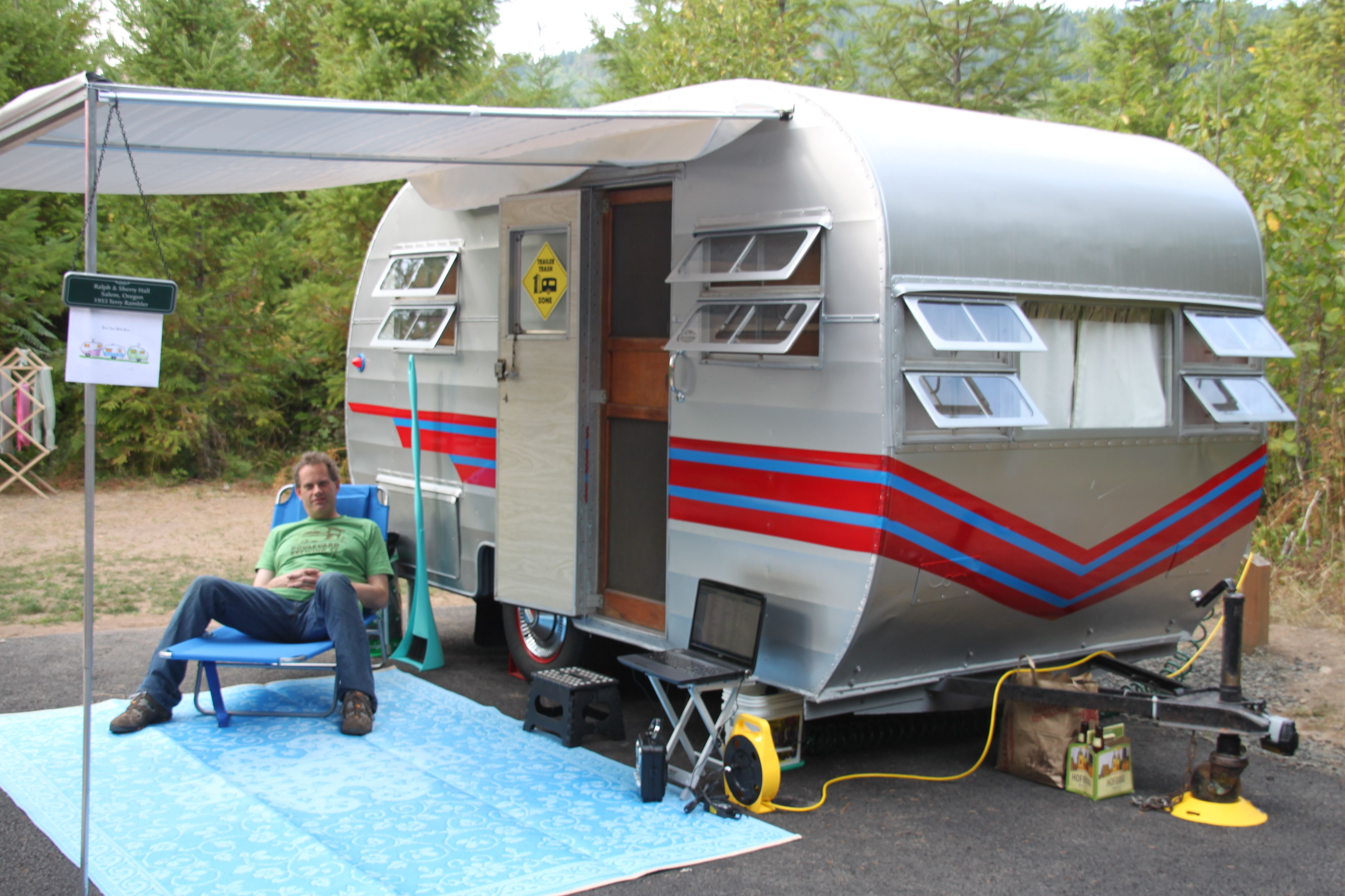 Our 1953 Terry Rambler Travel Trailer Of Camping Fun