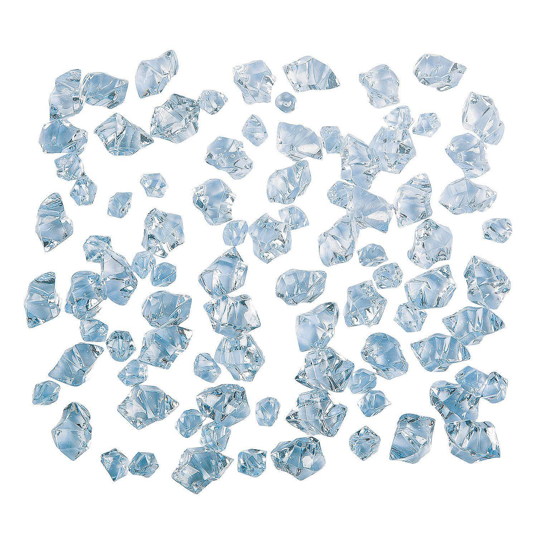 Acrylic Blue Ice - OrientalTrading.com