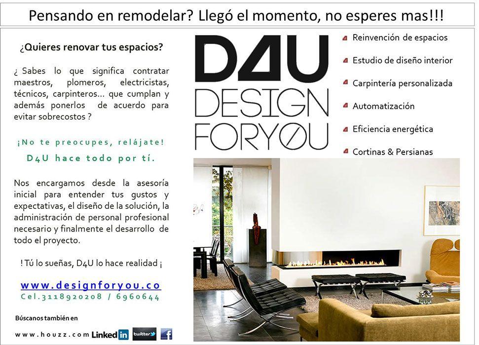 Proyectos::::D4u:::: design for you:::