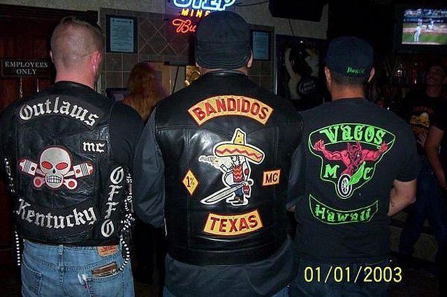 однопроцентники VAGOS MC   1%er clubs   Motorcycle clubs