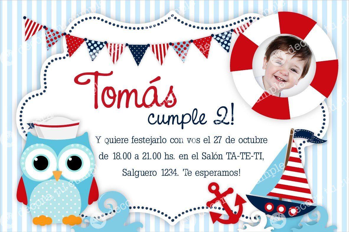 Tarjetas De Invitacion A Cumpleaños Online Para Fondo De