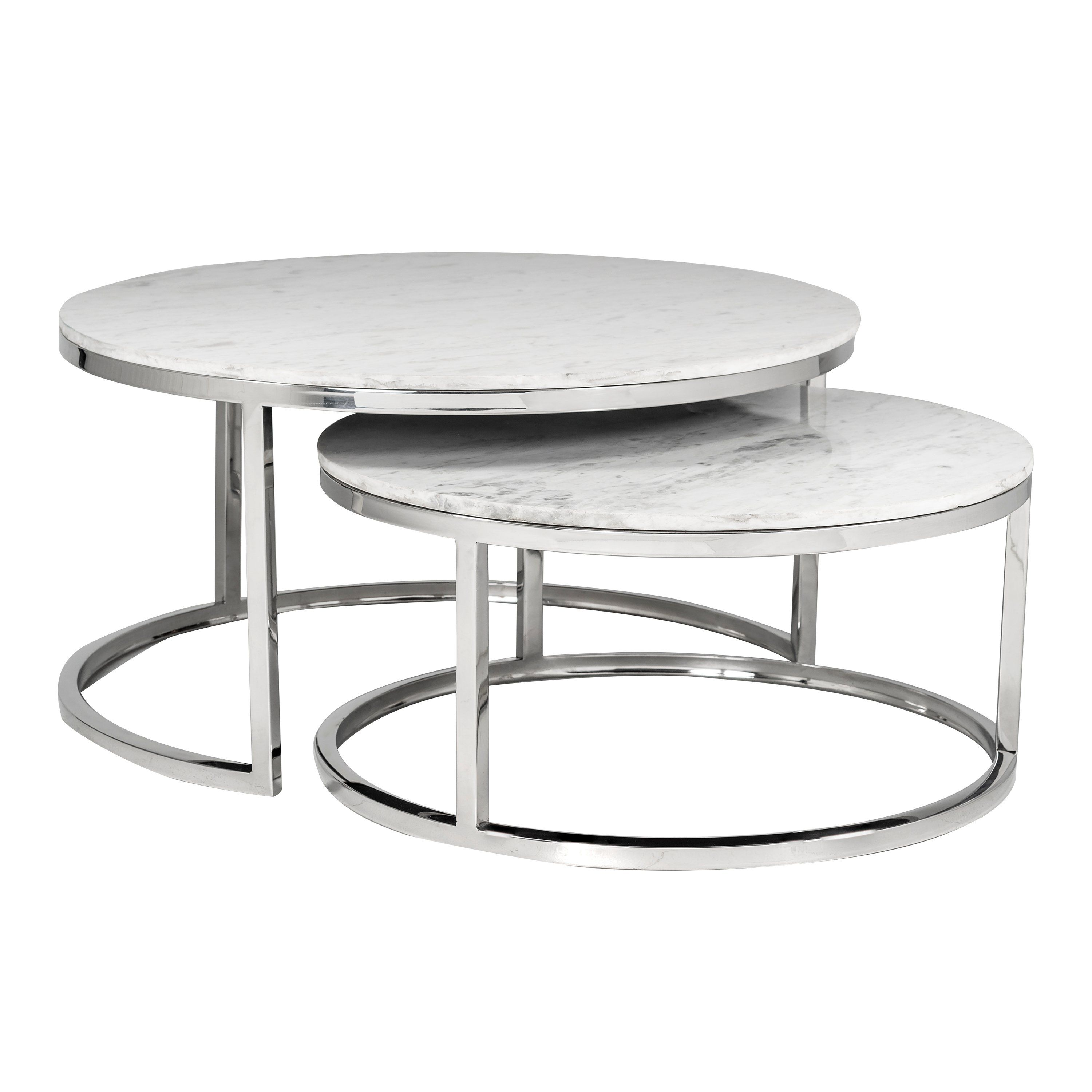 Sardinia Set Of 2 White Marble Coffee Tables In 2021 Coffee Table Round Coffee Table Modern Marble Coffee Table [ 3000 x 3000 Pixel ]