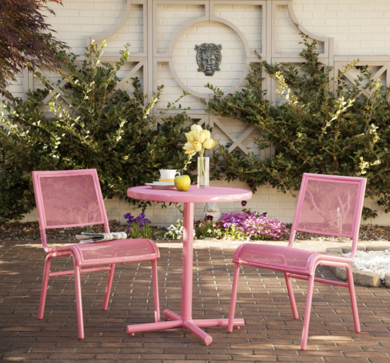 Pink Patio Furniture Roundup Outdoor Patio Furniture Sets