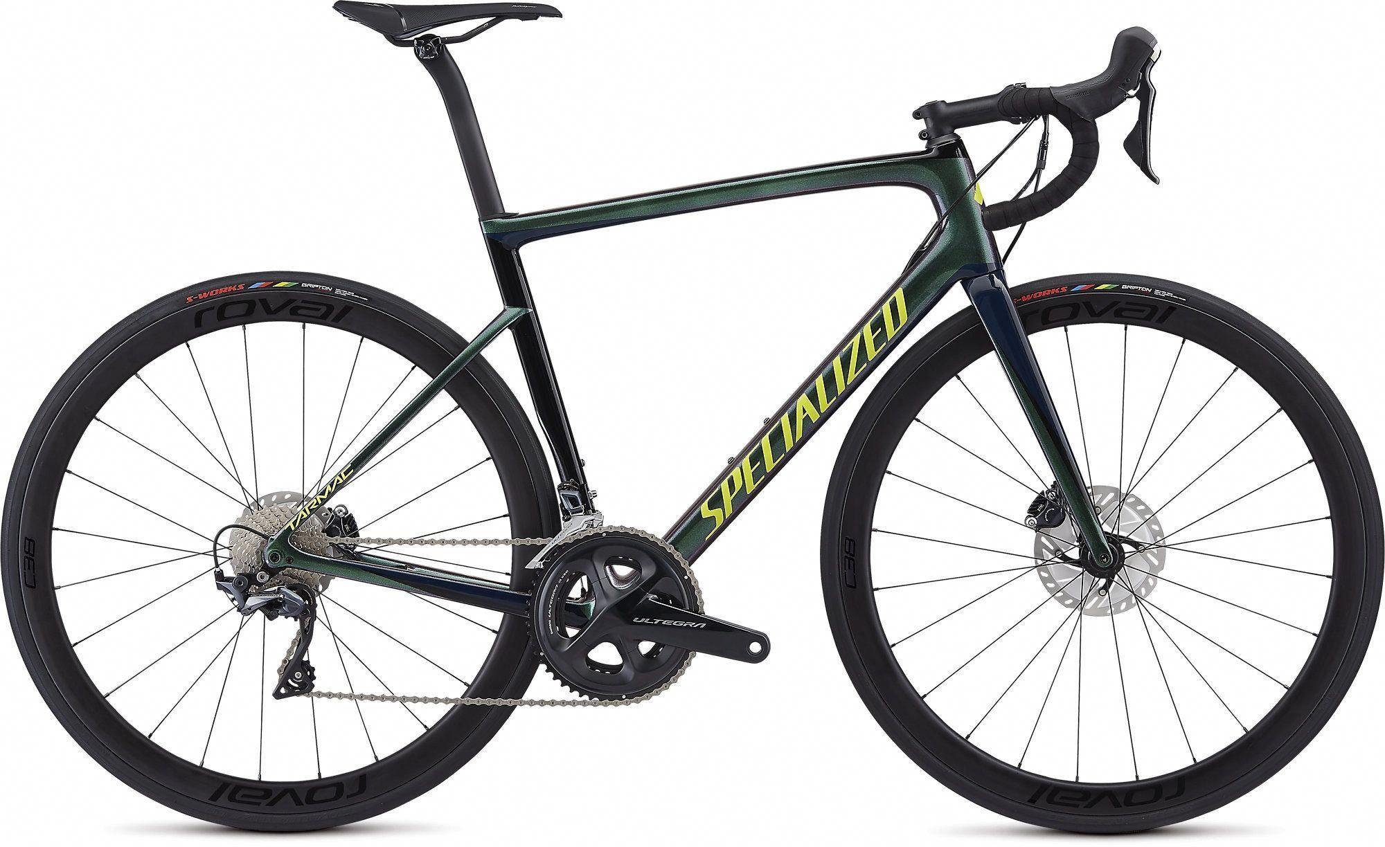 2019 Specialized Tarmac Disc Expert In Chameleon Green