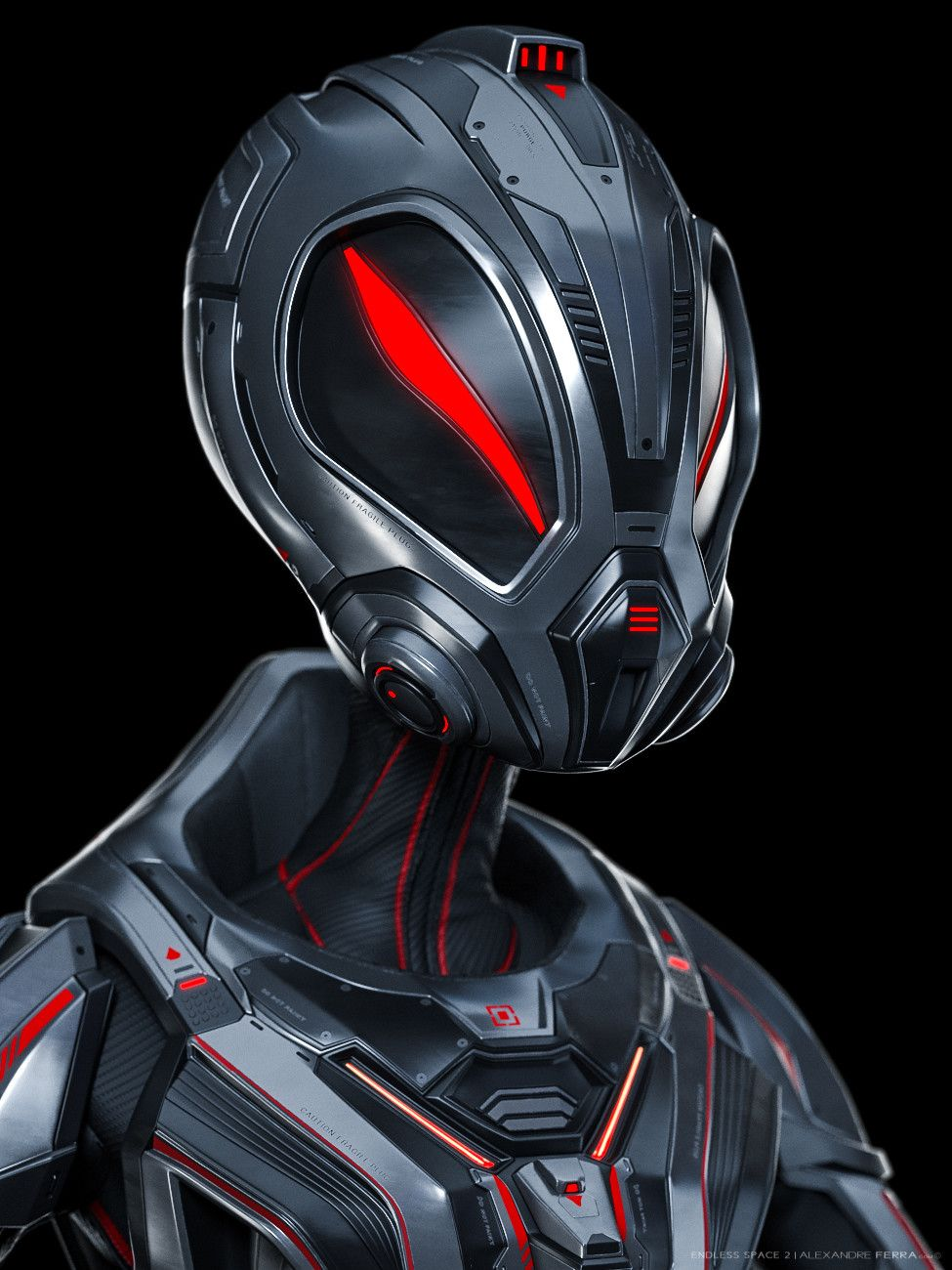 Top 10 Coolest Helmet Concepts On Artstation That Could Be
