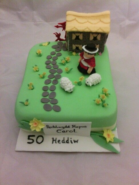 Pin by The Hand Painted Cake on Wales Theme Cake Pinterest Theme