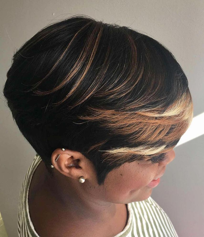 60 Great Short Hairstyles For Black Women Hairstyles With Bangs