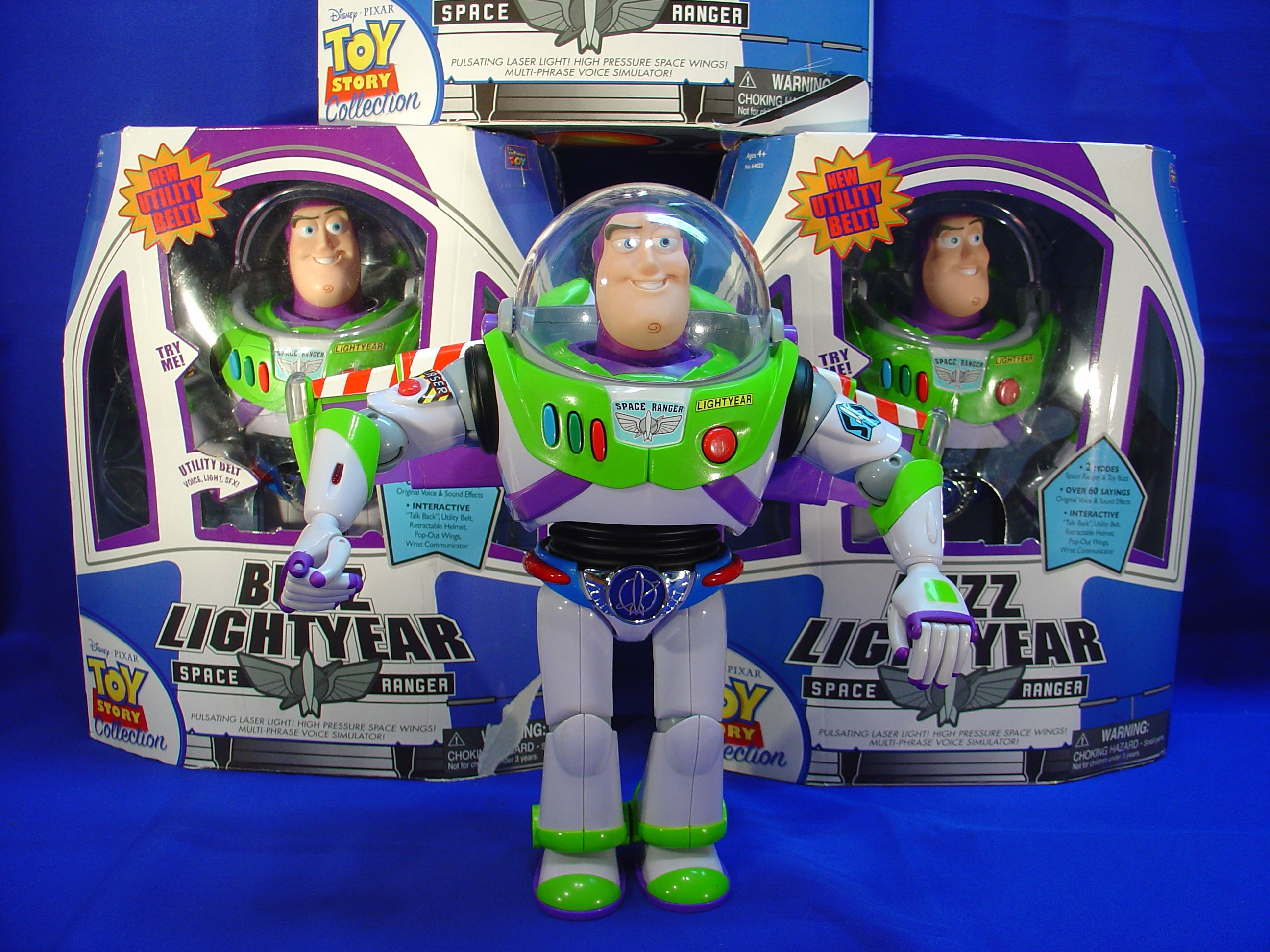 Toy Story Collection Buzz Lightyear Film Replica With Utility Belt Lightyears Buzz Lightyear Buzz Lightyear Utility Belt