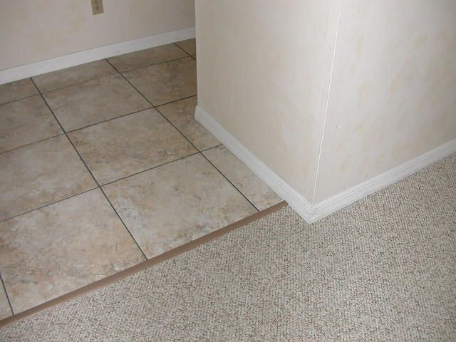 Rubber Strip tile to carpet transition from Terry Loveu0027s DIY Forums (great  site by the