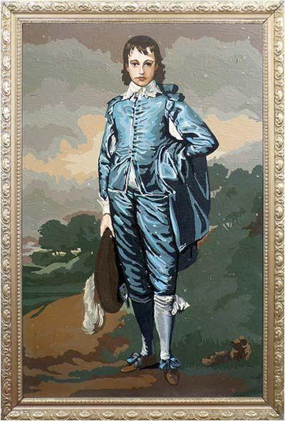 Little Boy Blue Painting