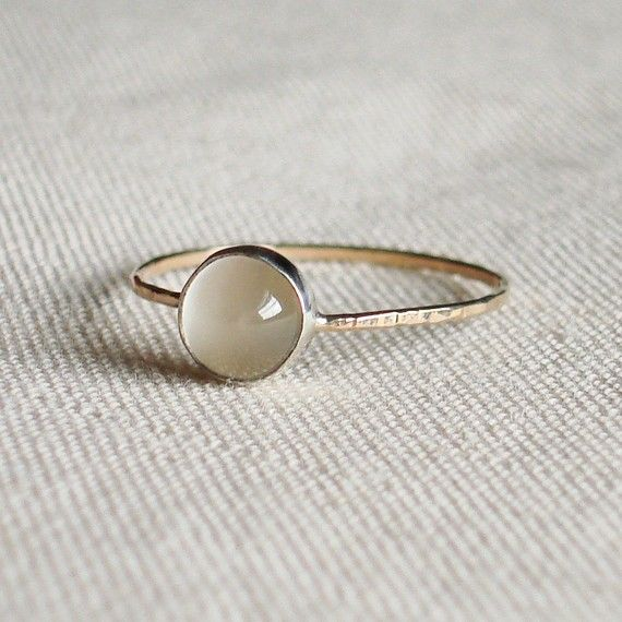 Moon on a Golden Thread Sweet and Simple Hammered by MARYJOHN